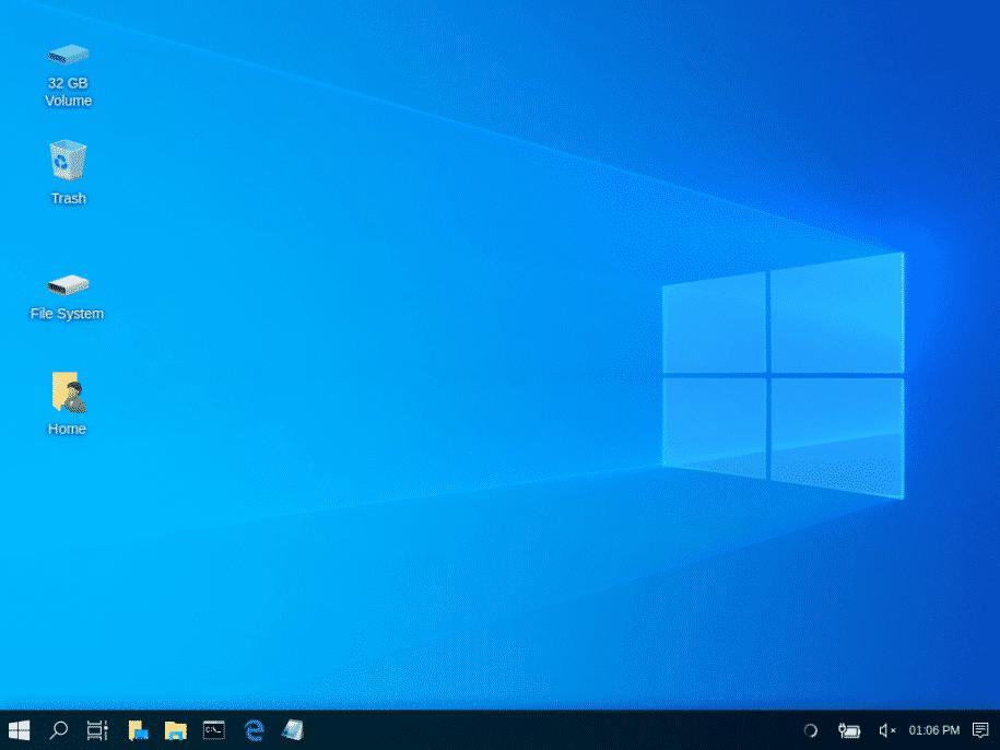 """Am Windows-10-""""Undercover""""-Modus haben die Entwickler noch ein wenig weitergeschliffen.(Bild:Screenshot)"""