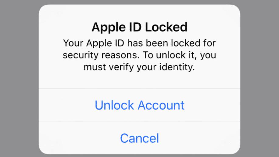 Apple ID gesperrt –iCloud-Nutzer irritiert von plötzlichem iPhone-Warnhinweis