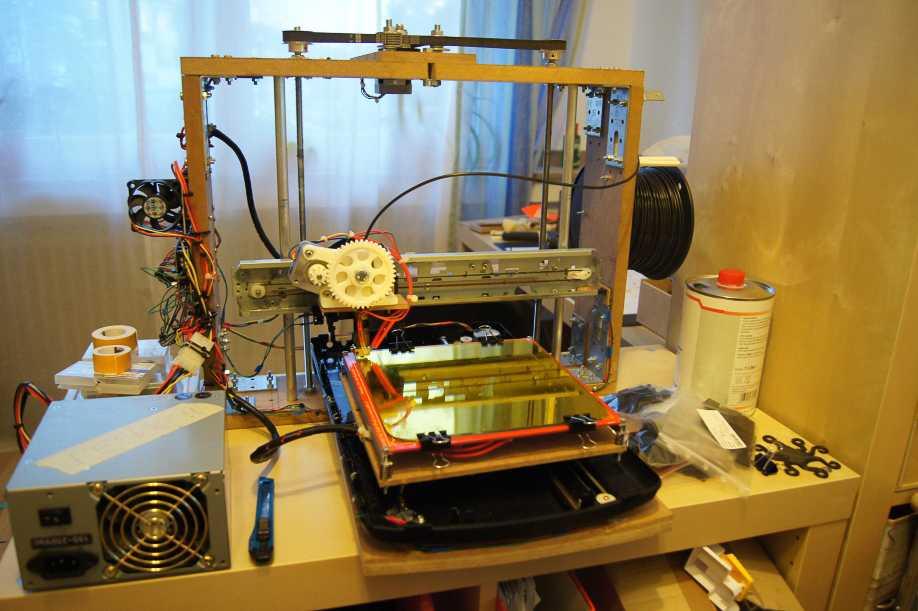 3D-Drucker aus Computerschrott.