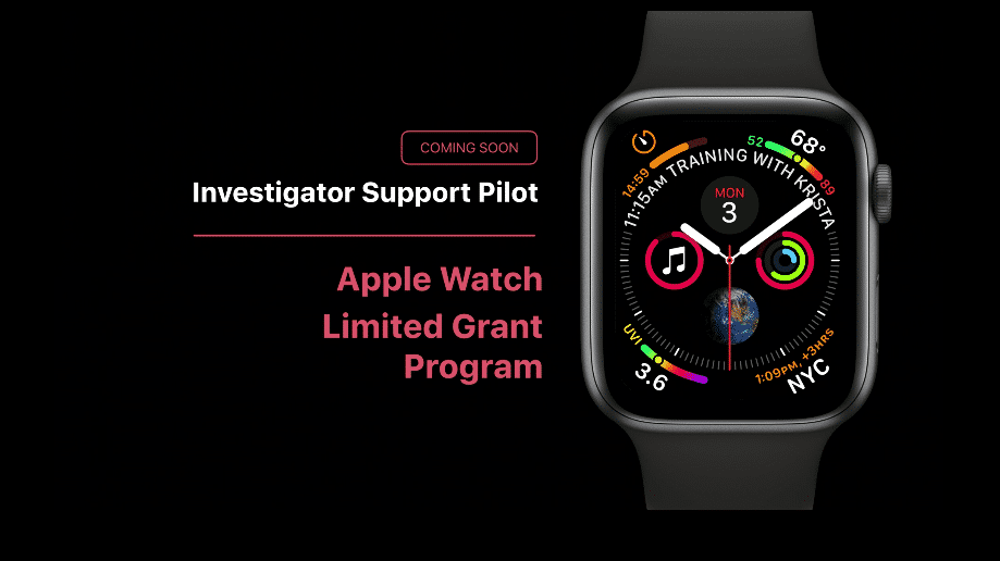 Apple hilft Watch-Forschern