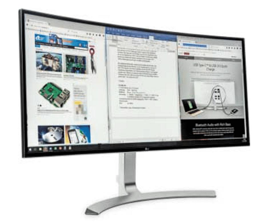 Die Displayoberfläche von Monitor und Notebook vertragen weder alkoholhaltige Reinigungsmittel noch starken Druck.