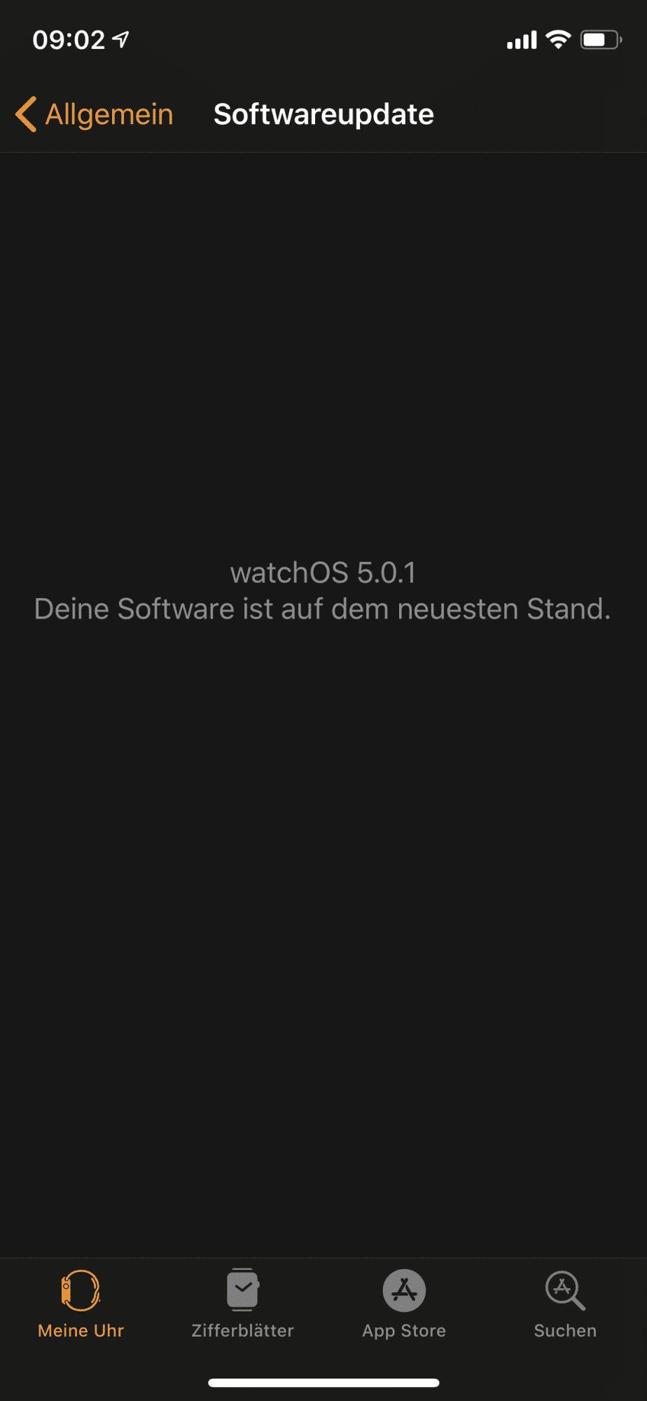 Das problematische watchOS-Update hat Apple zurückgezogen –es wurde am Mittwochmorgen nicht mehr zum Download angeboten.