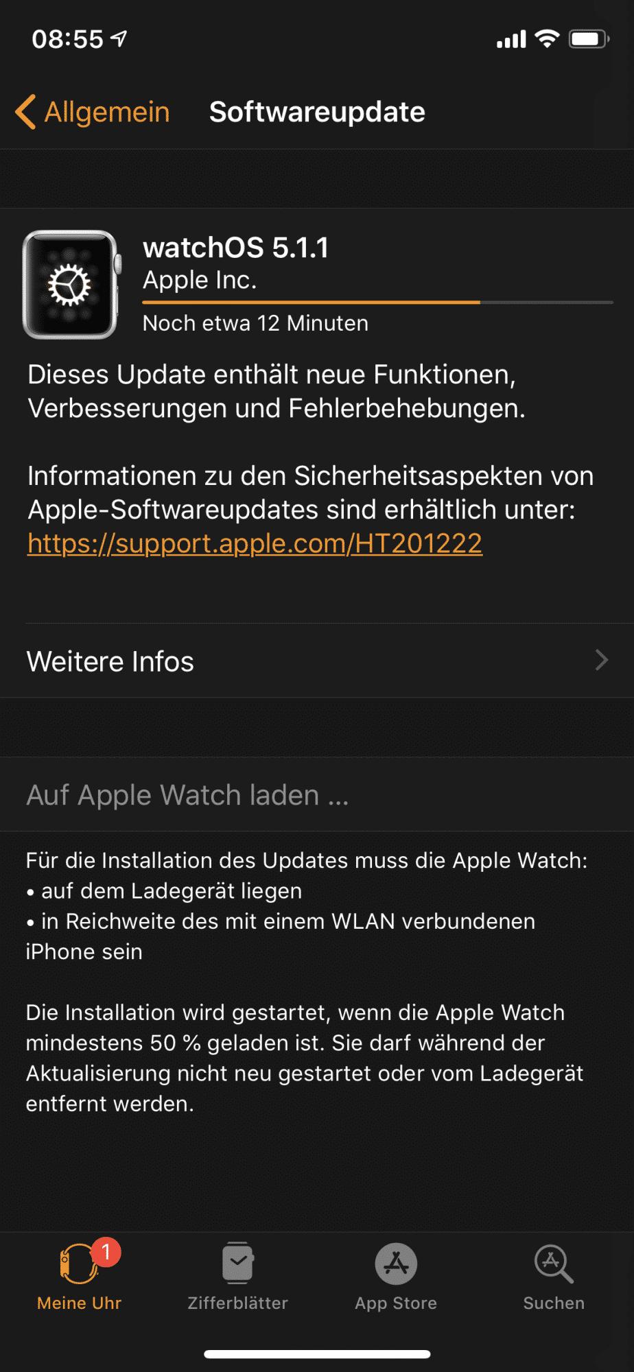 watchOS 5.1.1 Download