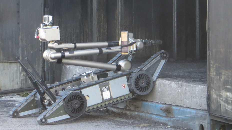 Roboterleistungsschau Elrob: Monsterroboter als Menschenretter