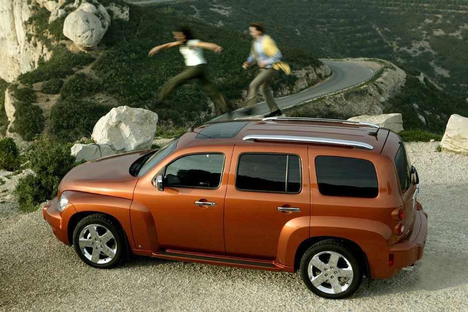 Betroffen von dem Rückruf sind auch die frühen Modelle des Chevrolet HHR.