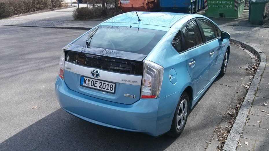 Zwei Monate begleitet uns ein Toyota Prius Plugin.