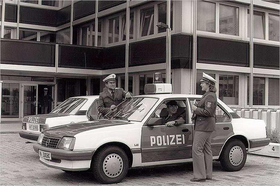 Ein Ascona mit 1,8-Liter-Motor für die Polizei war 1984 der erste Opel mit Kat