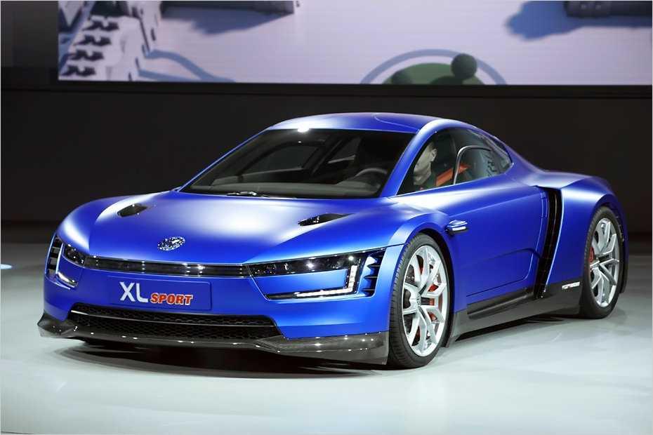 Volkswagen präsentierte auf dem Konzernabend des Pariser Automobilsalons die Studie XL Sport