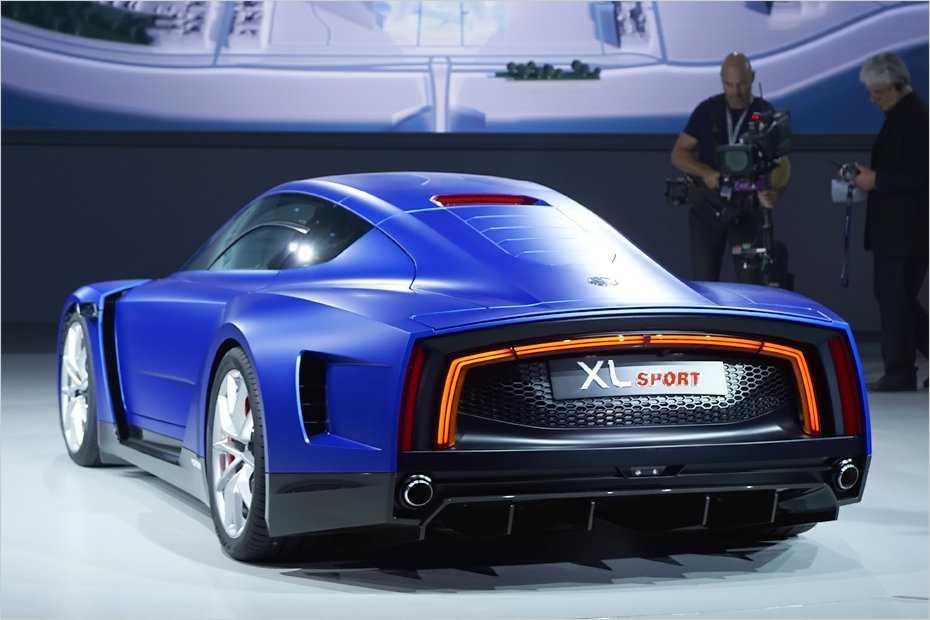 Der XL Sport folgt dem Design des Ein-Liter-Autos VW XL1