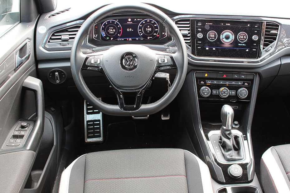 VW T-Roc Cockpit