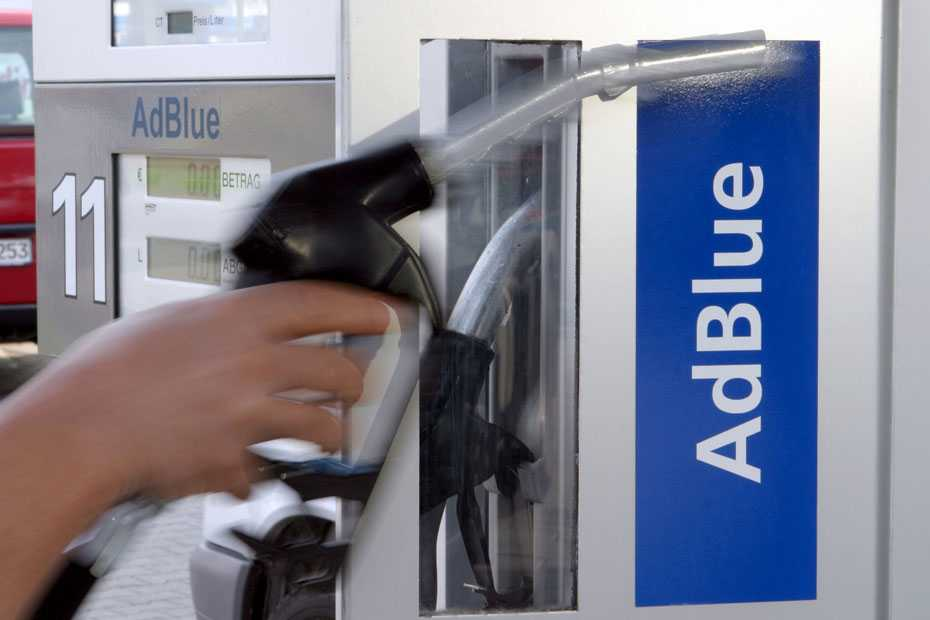 Adblue-Zapfsäule