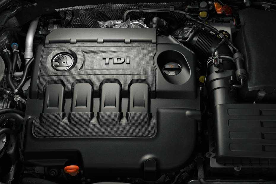 TDI-Motor im Skoda Octavia