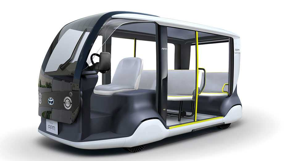 Toyota Accessible People Mover
