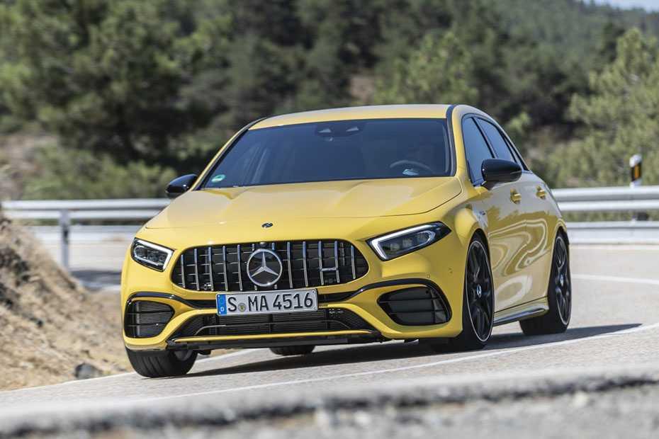 Fahrbericht Mercedes AMG A45 S