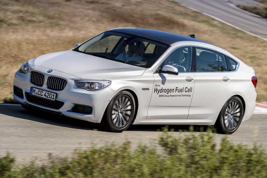 BMW 5er GT Brennstoffzellen-Prototyp