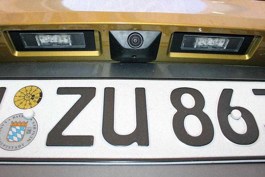 Rückfahrkamera BMW X2
