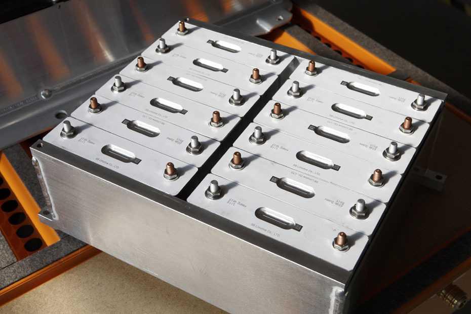 Lithium-Ionen-Hochvoltspeicher
