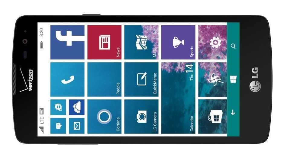 LG probiert's noch mal: Windows-Smartphone für USA angekündigt
