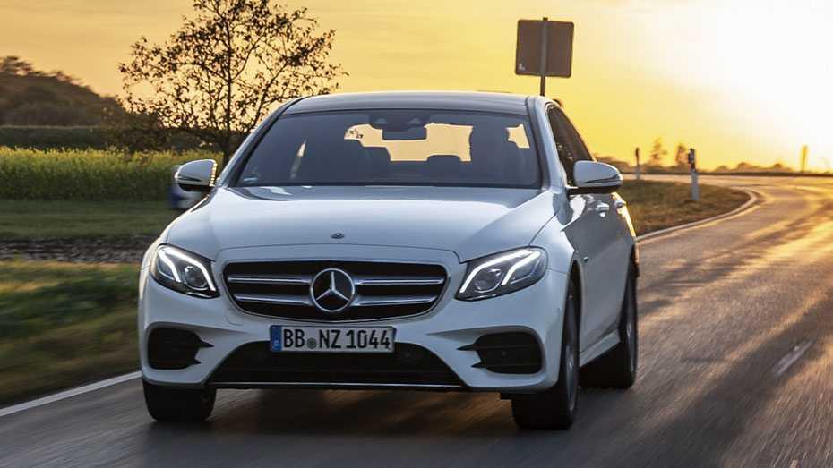 Mercedes E 300de PHEV
