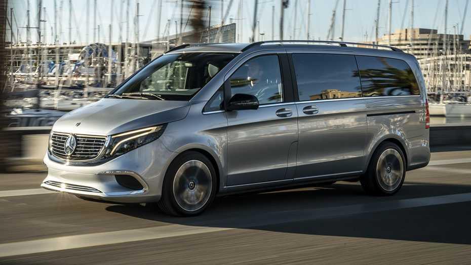 Mercedes Concept EQ V