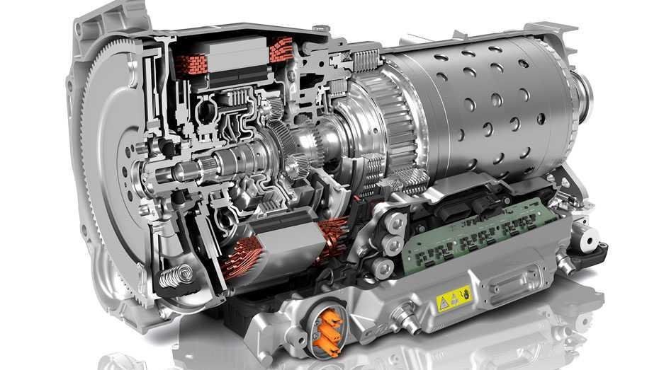 Mehr Kraft auf weniger Platz im ZF 8-Stufen-Hybridgetriebe