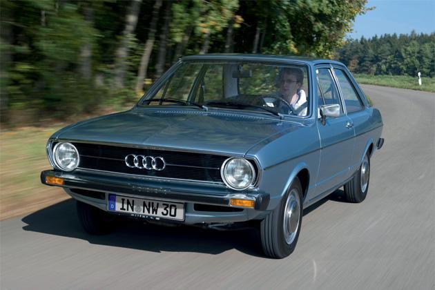 Audi 80 (B1) von 1975