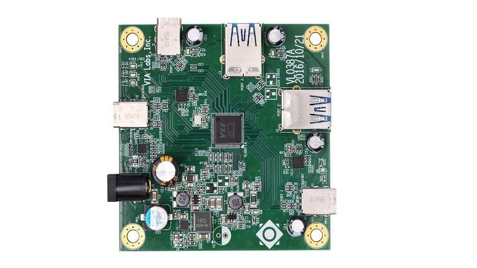 USB-3.1-Controller: VIA VL820 von USB Implementers Forum für Superspeed+ zertifiziert