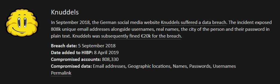 Nach Datenleck: Kopierte Knuddels.de-Accountdaten bei Have I Been Pwned
