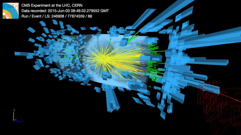 Neustart des Teilchenbeschleunigers LHC: Datensammlung beginnt