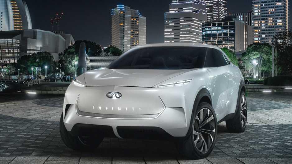 Elektroauto: Infiniti zeigt Konzept-Crossover QX Inspiration