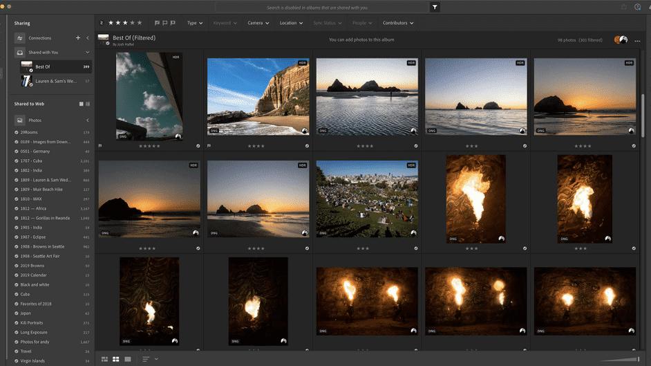 Adobe Lightroom CC: Direktimport unter iOS
