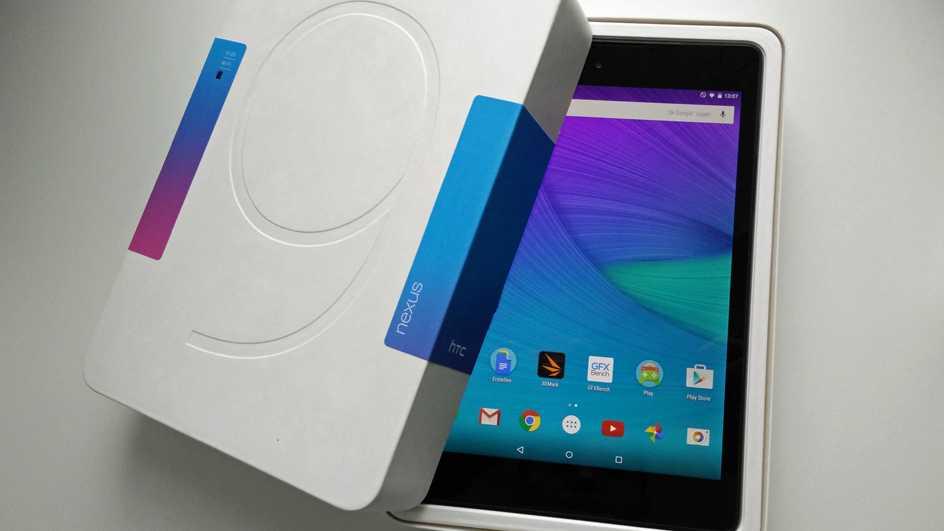 Google Nexus 9 wird ausgeliefert