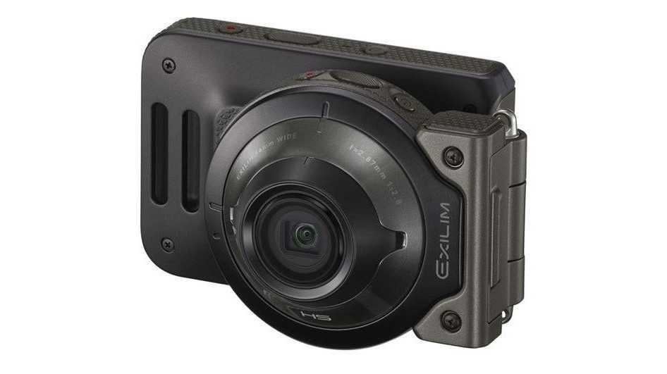 Action Cam für wenig Licht: Casio Exilim EX-FR110H mit 1,9 MP