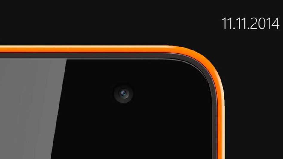Microsofts erstes Lumia-Smartphone wird am 11. November enthüllt