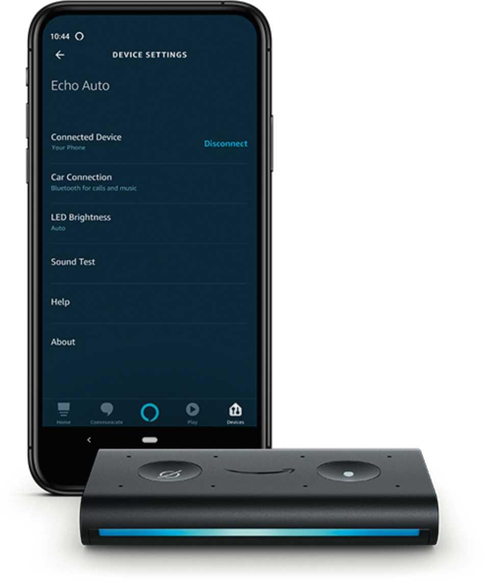 """In den USA ist bereits """"Echo Auto"""" erhältlich, mit dem Alexa in beliebige Fahrzeuge kommt. Für den Betrieb ist allerdings hier noch ein Smartphone mit passender App erforderlich."""
