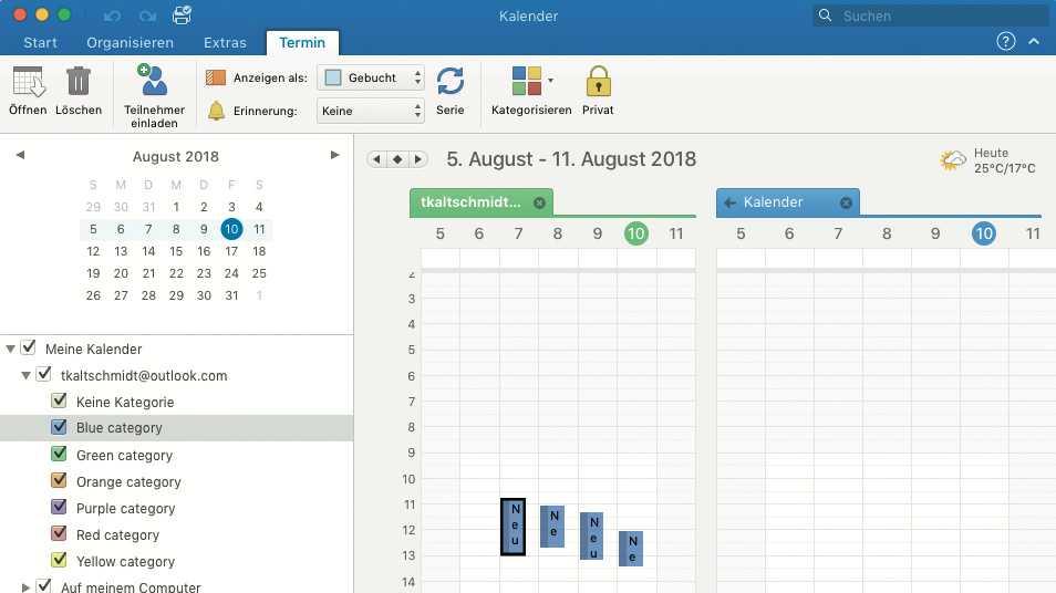 Outlook 2016 Mac
