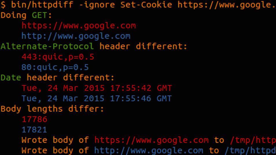 Webserver vergleichen