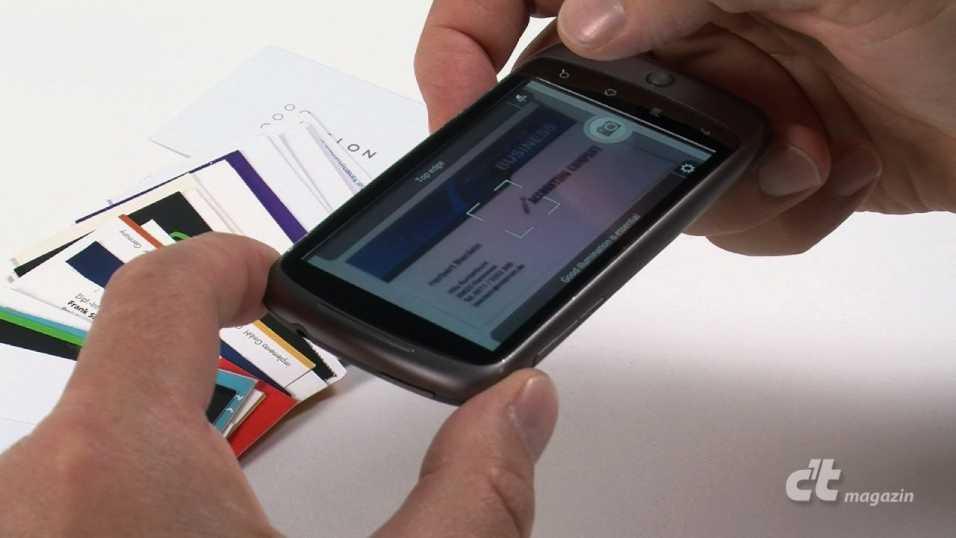 Visitenkarten Scannen Mit Dem Smartphone C T Magazin