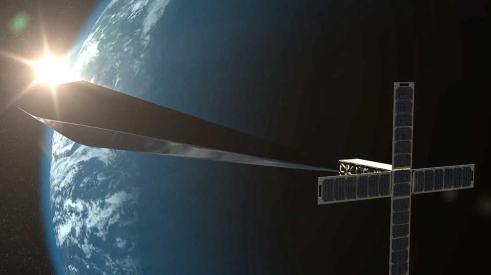 """Die nächste """"Discokugel"""" fürs All: Satelliten-Skulptur vor ihrem Start"""