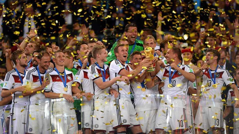 Die frischgebackenen Weltmeister