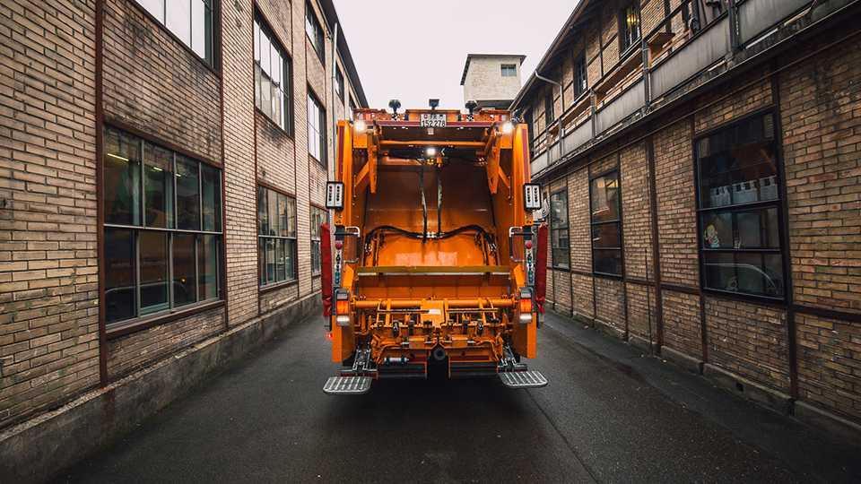 Elektro-Müllwagen: Frankfurter Entsorger testen Futuricum