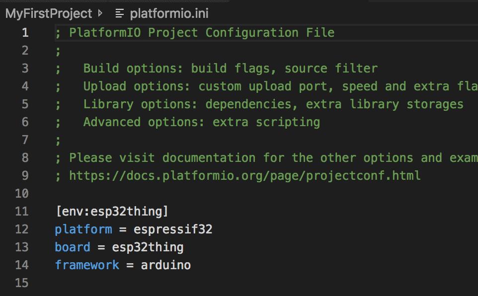 Über platform.ini lassen sich Konfigurationen vornehmen