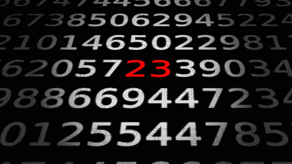 Zahlen, bitte! 23 - die Zahl der Verschwörer