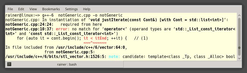 C++ Core Guidelines: Weitere Regeln zu Templates
