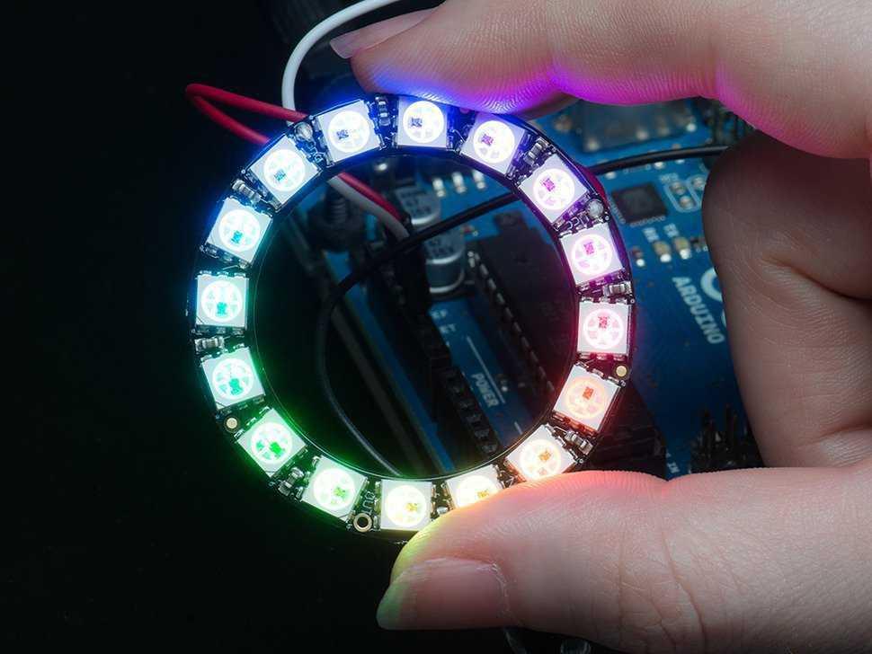 Ring  mit 16 LEDs
