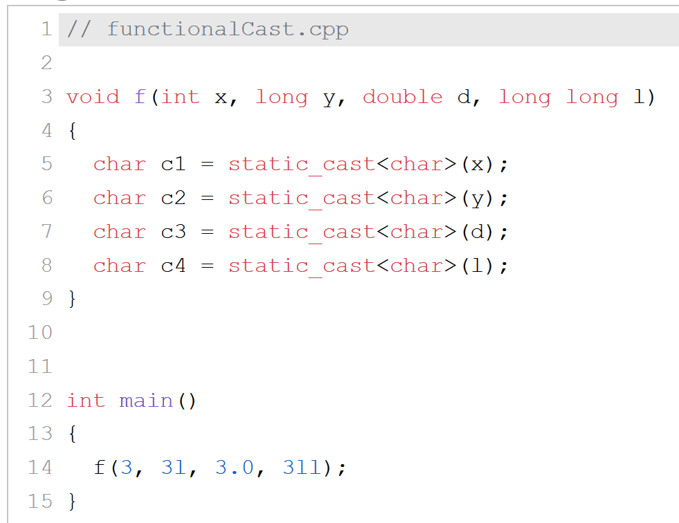 C++ Core Guidelines: Type Safety