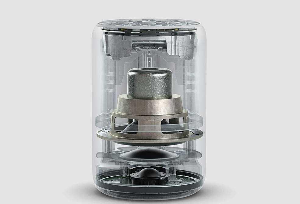 Ein besseres Lautsprechersystem soll der zweiten Generation des Echo Plus zu satterem Klang verhelfen.