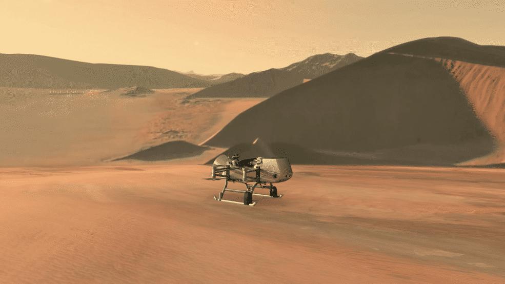 Drohne soll auf Saturn-Mond Titan nach Leben suchen