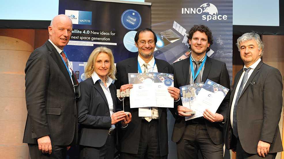 INNOspace Masters verliehen ? erster deutscher Wettbewerb für mehr Innovationen im All