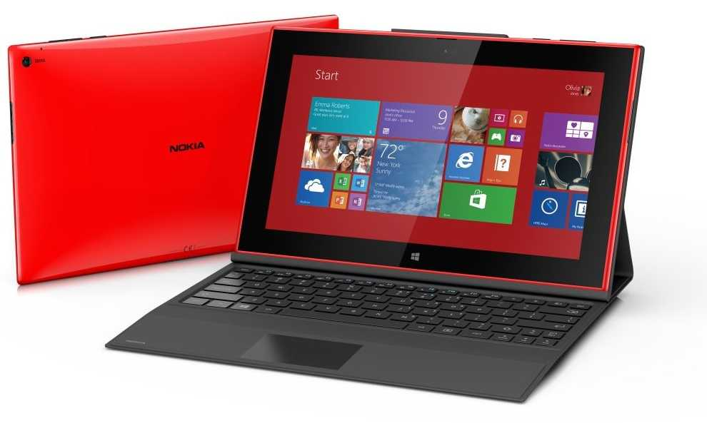Lumia 2520 mit Power Keyboard